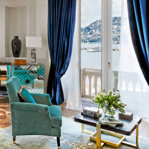 The rooms and suites at Vista Palazzo Lago di Como all boast separate living areas and spectacular vistas