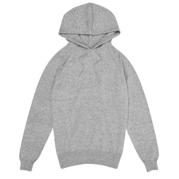 Cashmere hoodie, £485