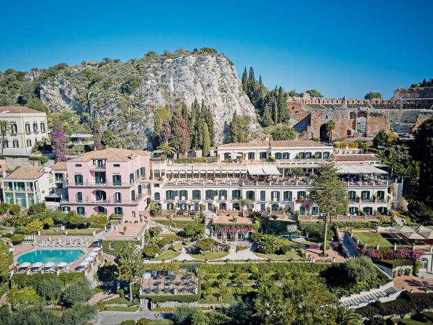 The Belmond Grand Hotel Timeo in the hillside town of Taormina