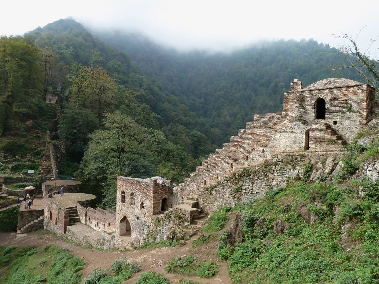 Rudkhan Castle, which is visited on Wild Frontiers' 15-day Iran itinerary