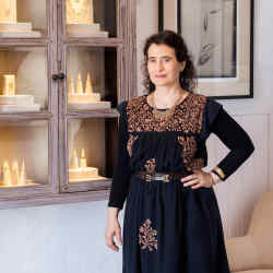 Jeweller Natasha Collis at her eponymous atelier