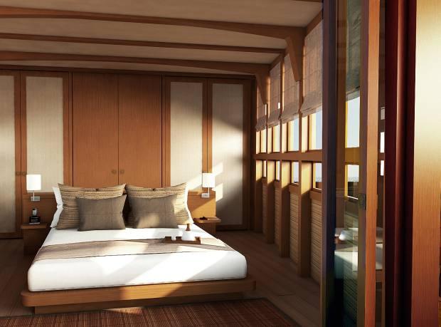 Amandira's master cabin