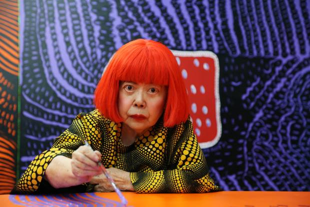 This is Yayoi Kusama's 12th exhibition at Victoria Miro