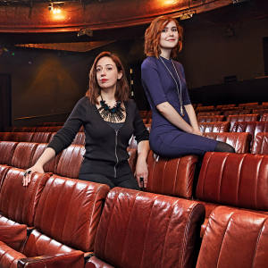 Ana Inès Jabares-Pita (left), winner of The Linbury Prize for Stage Design, and Katherine Soper, winner of The Bruntwood Prize for Playwriting, both worked on WishList, which was performed at London's Royal Court