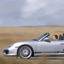 The new Porsche Boxster Spyder, from £46,387.