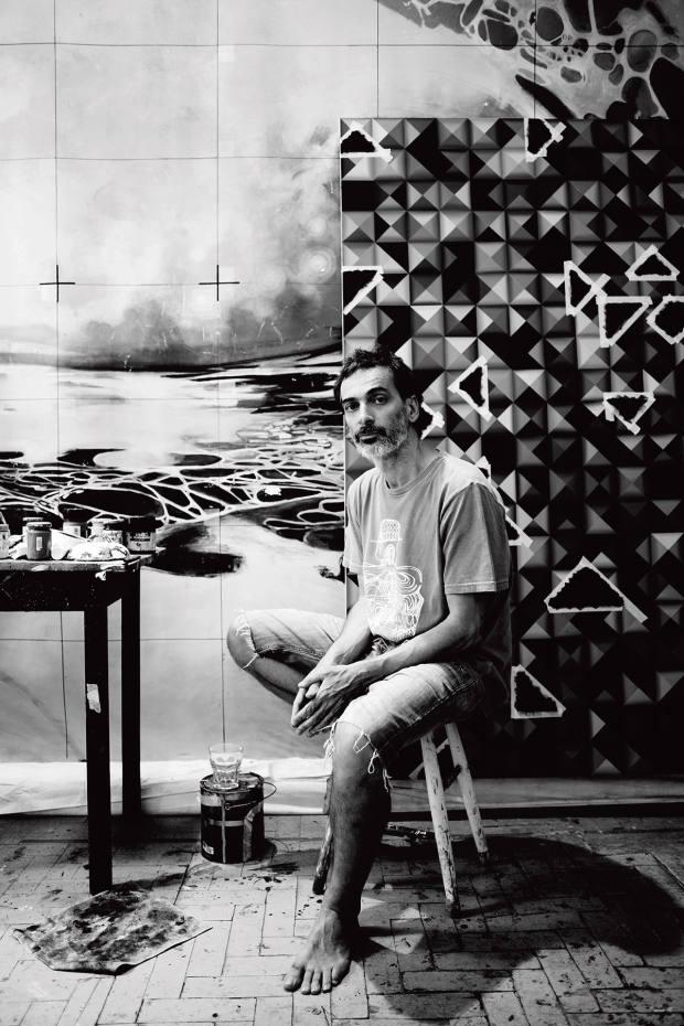 São Paulo painter LuizZerbini