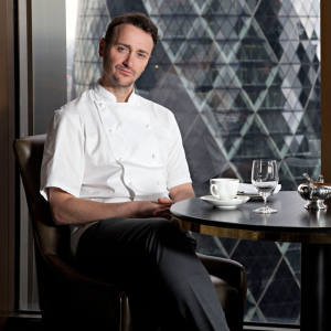 Jason Atherton (left) is creating a more casual concept than at his neighbouring City Social restaurant