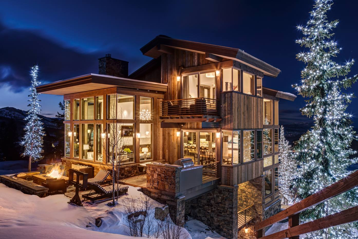 Stein Eriksen Lodge in Utah has added several new residences with state-of-the-art entertainment rooms