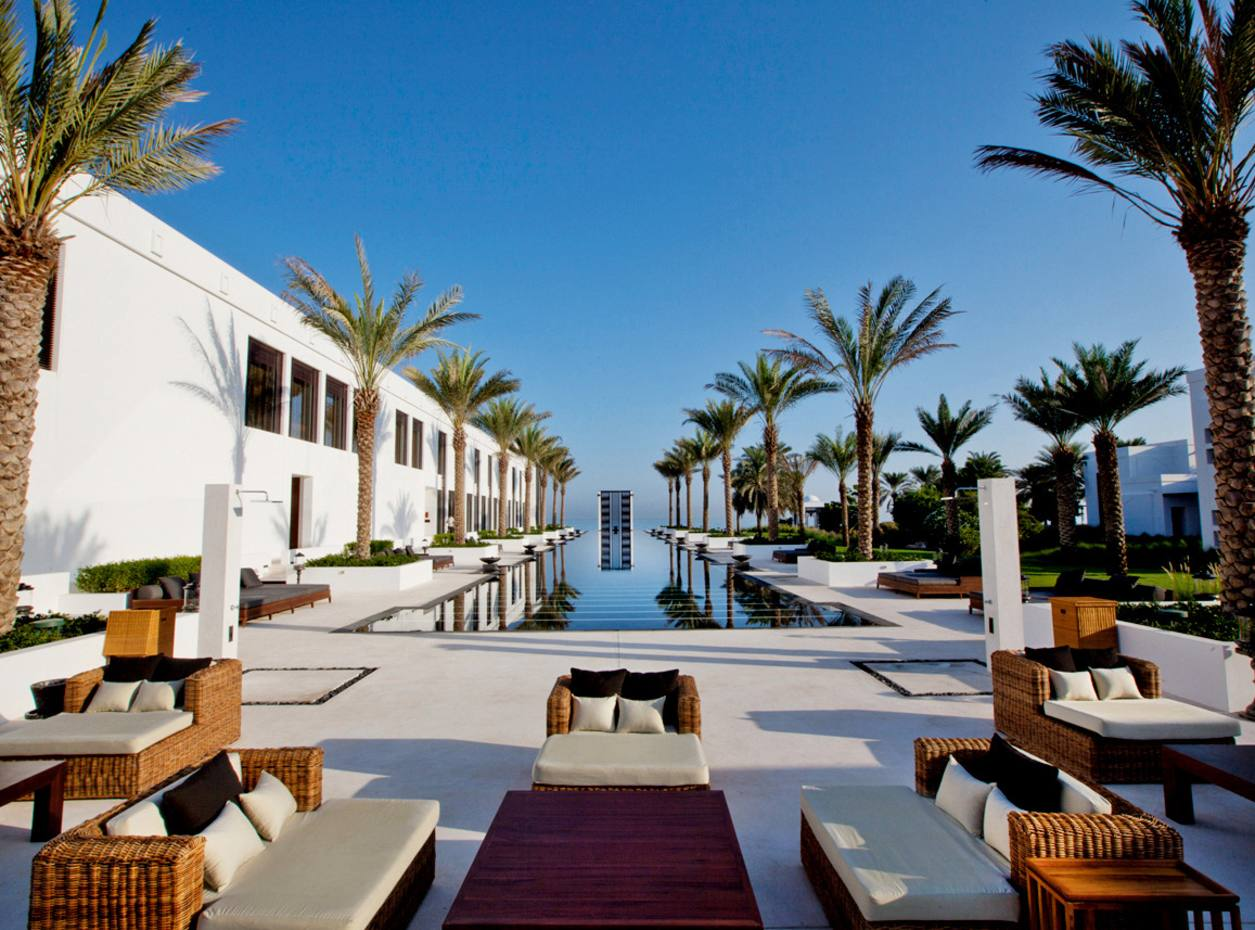 The Long Pool at The Chedi Muscat, Oman