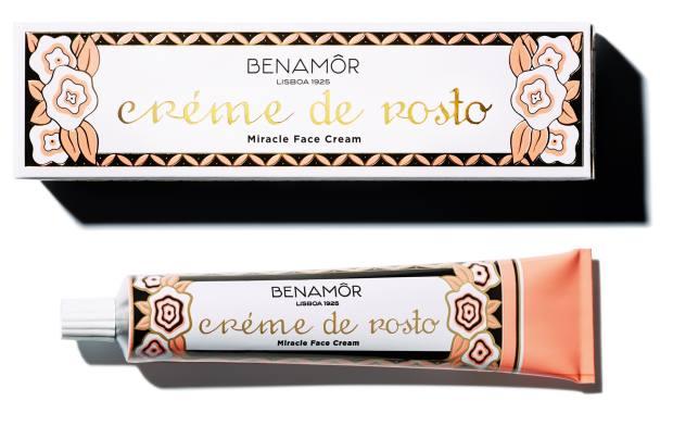 Benamôr Créme de Rosto face cream, €15 for 50ml