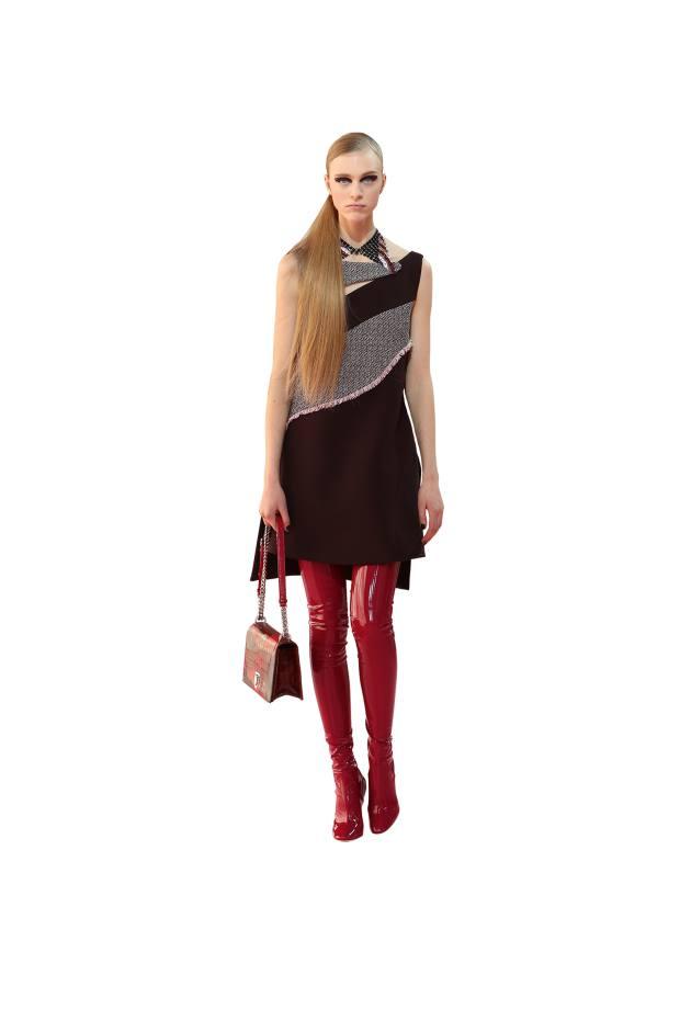 Dior wool and tweed dress, £2,050