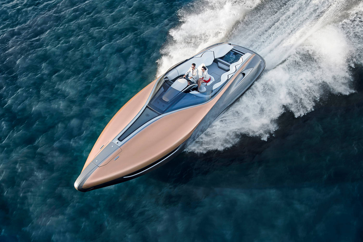 aston martin, mercedes-benz and bugatti hit the water | how to spend it