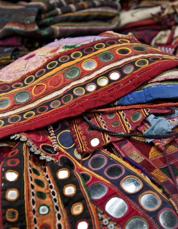 Banjara belts (around 50 years old) from Kerala, about £5-£6.
