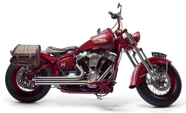 2018 Huntsman custom Harley-Davidson Softail Slim FLS by Warr's Harley-Davidson London, £35,000-£45,000