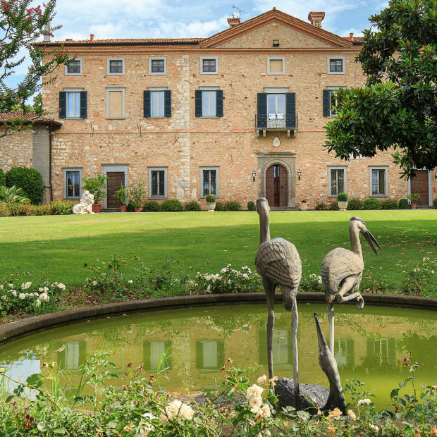 A 15-bedroom, 15th-century villa near Lake Iseo in northern Italy, sitting insixhectares of parkland, €12m through Lionard