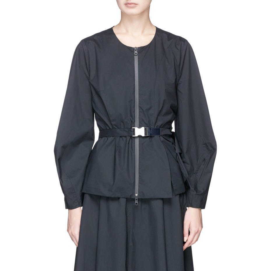Ruffled waist jacket, £325