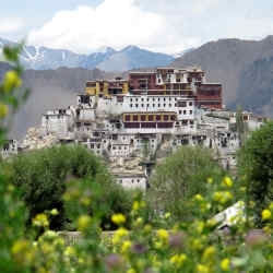 Thiksey Monastery is one of the attractions in Ladakh, where Ampersand Travel has launched an itinerary