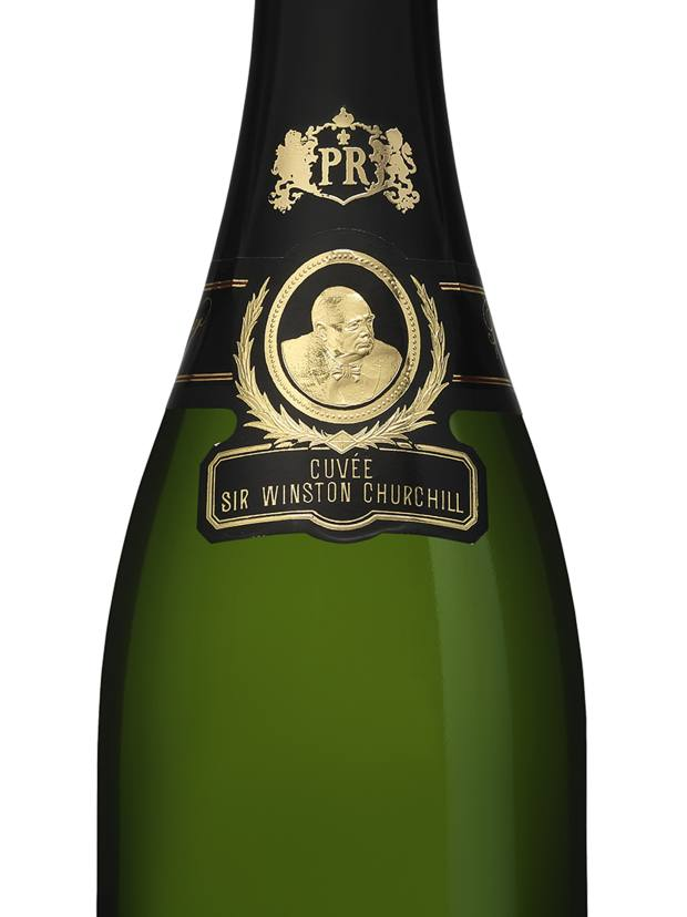This stately portrait has featured on bottles of Pol Roger Cuvée Sir Winston Churchill since 1984
