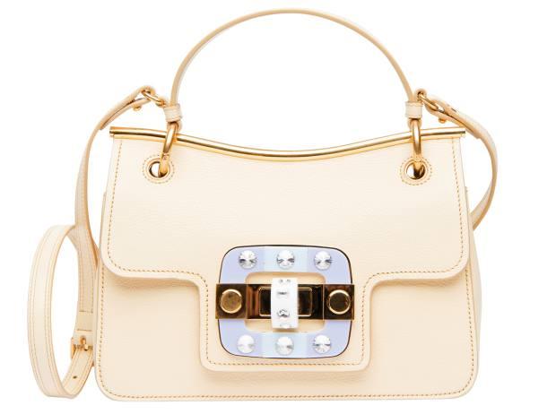Miu Miu leather bag, £1,420