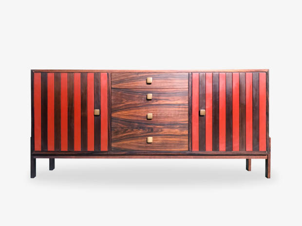 Sideboard by Ettore Sottsass, featured in Ivan Mietto's Ettore Sottsass: Una Piccola Stanza