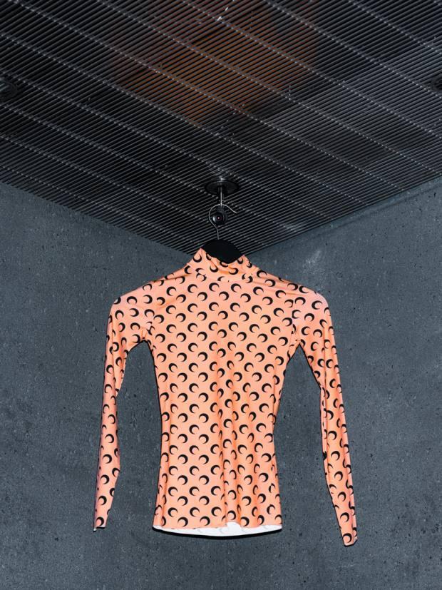 Marine Serre moon-print jersey poloneck, £255