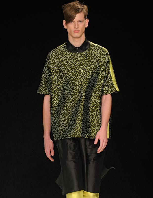 E Tautz silk-jacquard Peggy T-shirt, £440