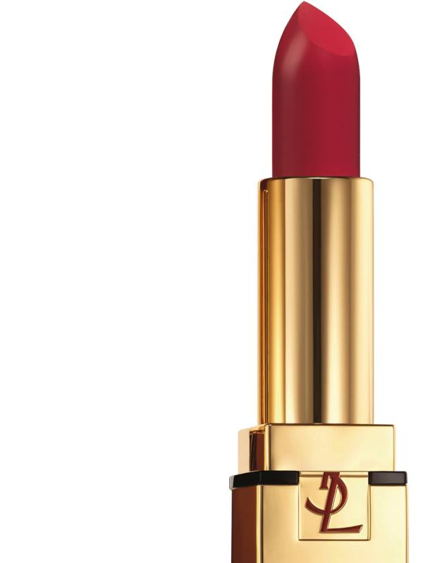 YSL Pur Couture The Mats lipstick in Rouge Rock, £26.