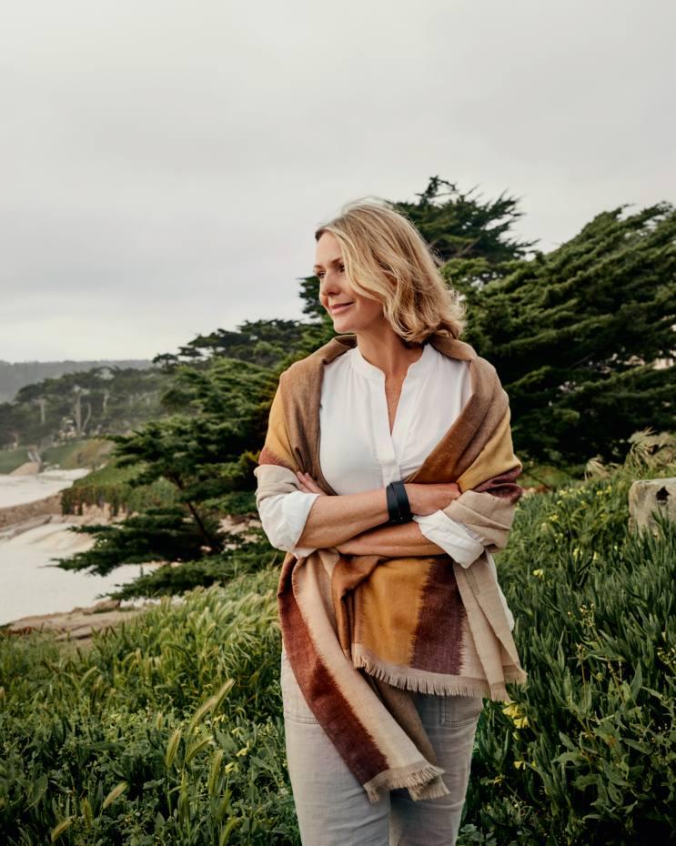 """There's an occupational hazardof itinerant life…"" Maria Shollenbarger on Carmel State Beach, California"