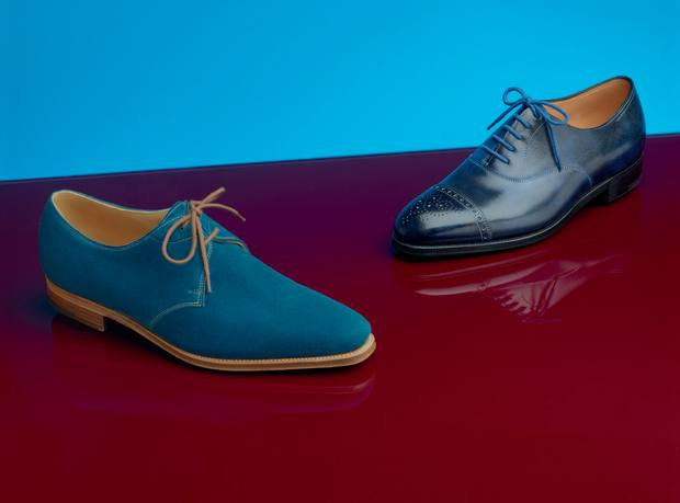25767302b433f9 Paul Smith and John Lobb's colourful creations | How To Spend It