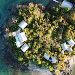 Panama's 1,033-acre Islas Secas resort runs entirely on solar energy