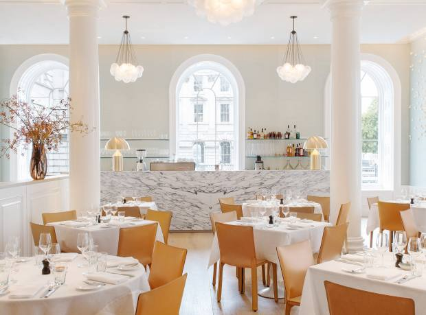 Spring restaurant at Somerset House, London