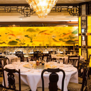 The China Tang dining room at The Dorchester