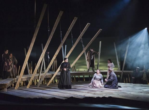 A performance of Katya Kabanova at Longborough in 2012