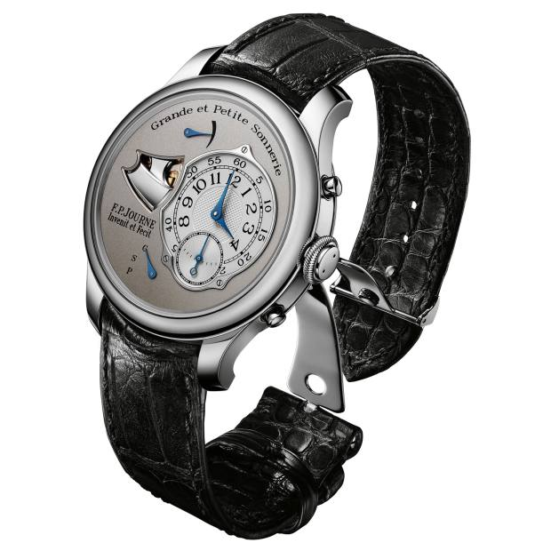FP Journe polished-steel Sonnerie Souveraine, about £465,000