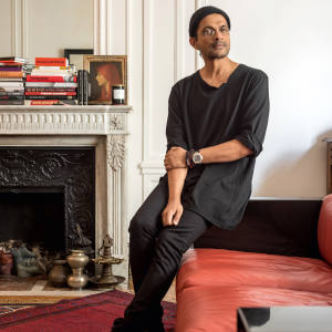 Ramesh Nair at home in Paris