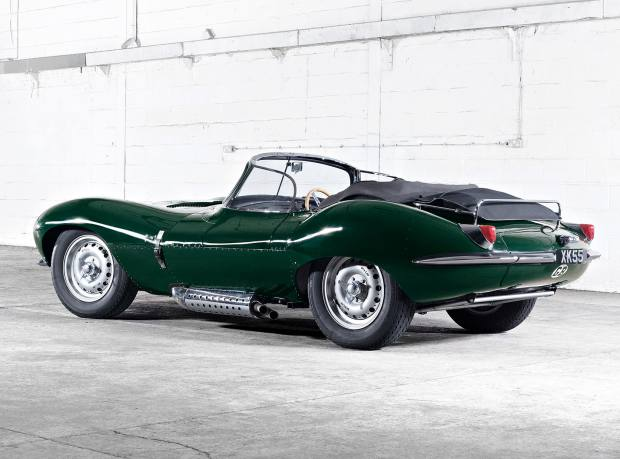One of nine new Jaguar XKSSs, about £1m from JLR Classics