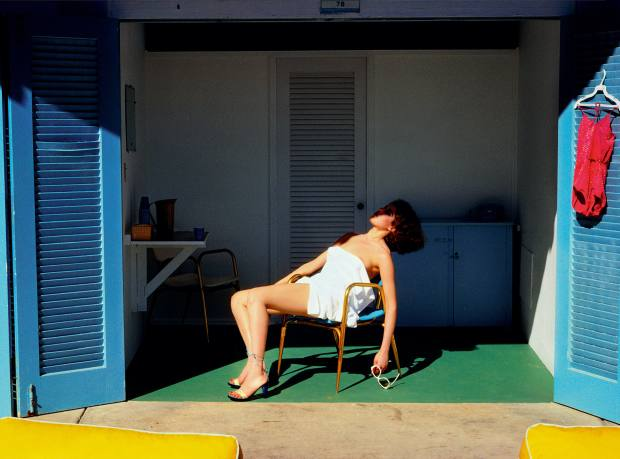 Guy Bourdin's pictures of Americana feature in the Miami book