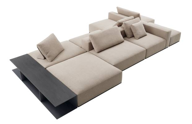 Westside sofa system by Jean-Marie Massaud for Poliform, from £8,000