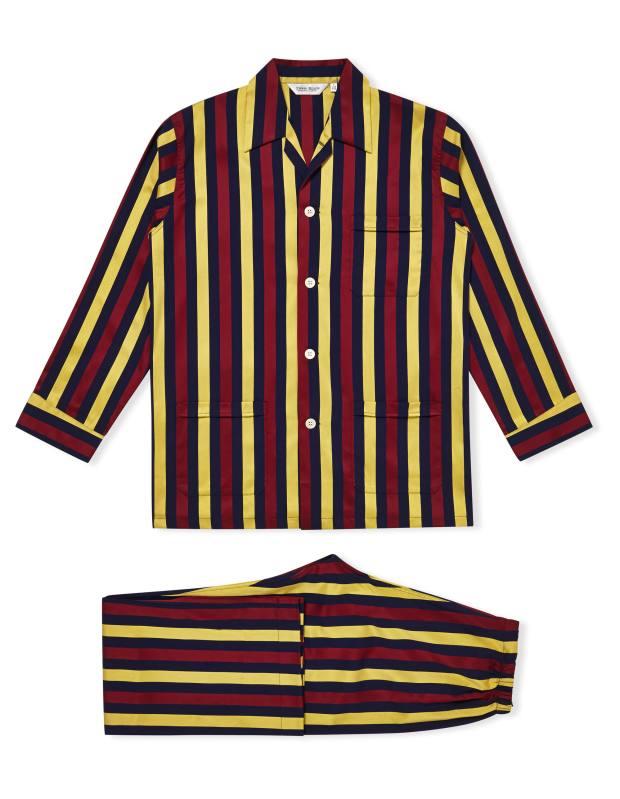 Derek Rose cotton/satin pyjamas, £146