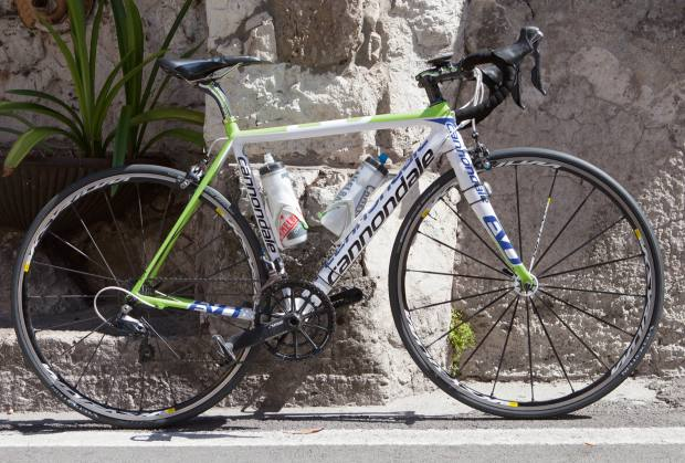 Cannondale racer, from £649.99 – hotelier Antonio Sersale's bicycle of choice