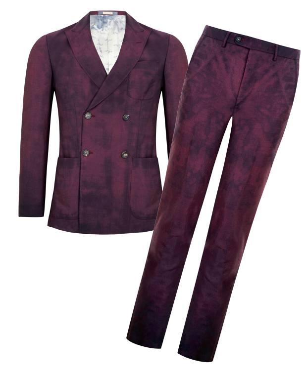 Massimo Alba x Fenwick mohair Guzzi suit, £1,055