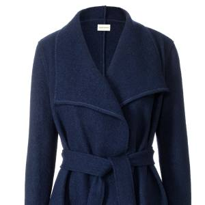 Permanent Collection boiled-wool Yvonne coat, $950