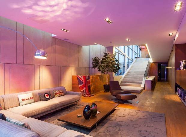 A duplex penthouse on Shoreditch's Ravey Street, £6m through Hamptons International