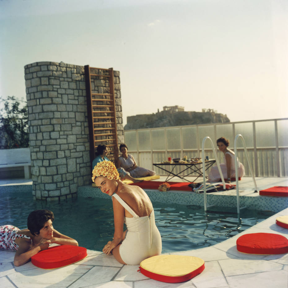 Penthouse Pool by Slim Aarons, £3,000 from IFAC