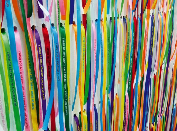 Brazilian artist Nivane Neuenschwander's I Wish Your Wish (2003).