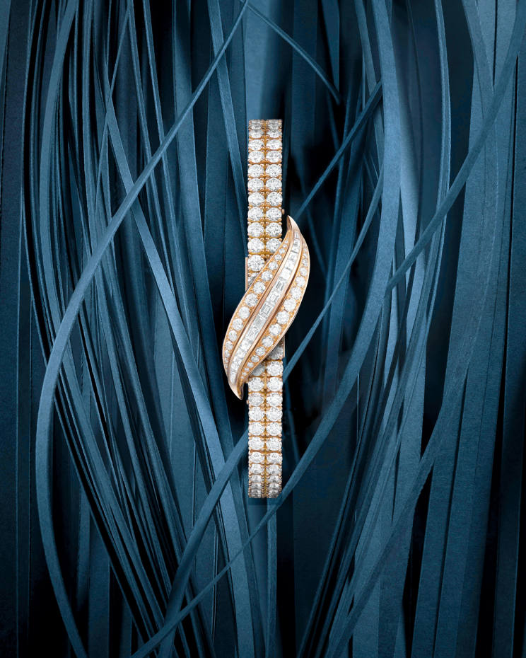 Jaeger-LeCoultre rose-gold anddiamond 101 Feuille, £223,000