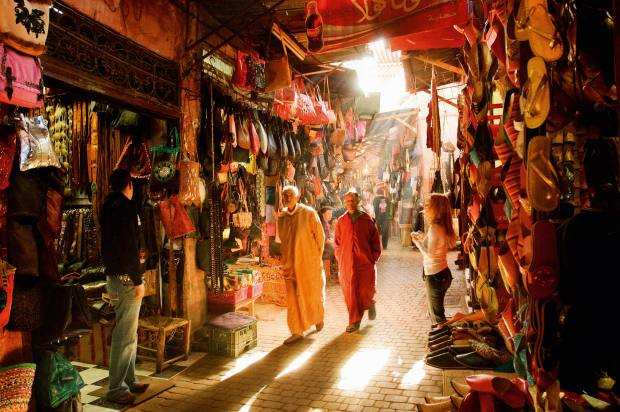 "Based on a True Story organised a quest for a ""magical"" tailor in the medina of Marrakech"