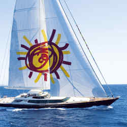 Tiara is the first luxury yacht with an onboard Padi dive centre, available through Edmiston.