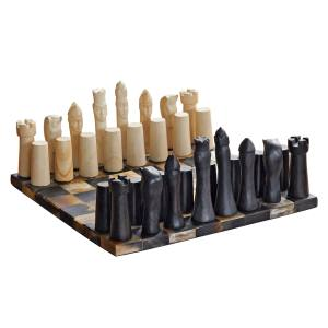 DOT horn and stone chess set, from $895