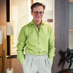 Interior designer Daniel Hopwood